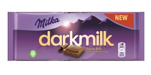 Milka Dark Milk Alpine