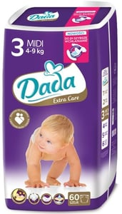DADA Extra Care 3 Midi 4-9 kg
