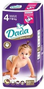 DADA Extra Care 4 Maxi 7-18 kg (velikost 4) 50ks