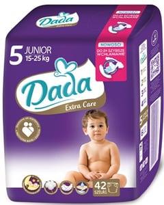 DADA Extra Care 5 Junior 15-25 kg (velikost 5) 42ks