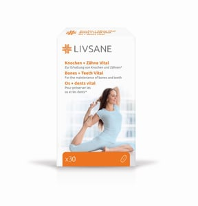 LIVSANE Podpora pro zdravé kosti a zuby tbl.30