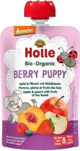 Holle BIO Ovocné pyré Berry Puppy jablko-broskev-lesní plody