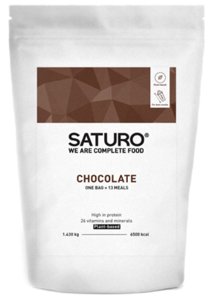 Saturo Vegan Prášek Čokoláda