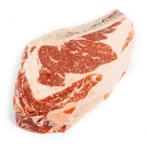 Naše maso Vysoká roštěná s kostí z jalovice nebo volka na steak