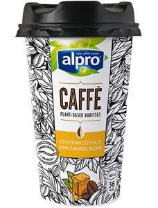 Alpro Kávový nápoj se sójou a karamelem