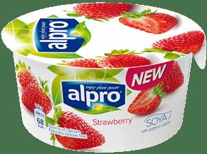 Alpro Fermentovaný sójový výrobek jahoda