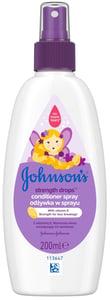 Johnson's® Strength Drops Posilující kondicionér ve spreji