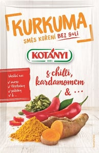 Kotányi Kurkuma, Chilli, Kardamom