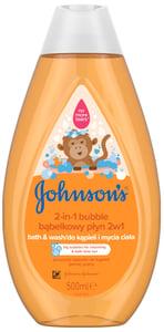 Johnson's® Bublinková koupel & mycí gel 2v1