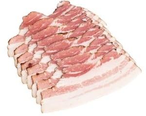 Naše maso Slanina anglická krájená