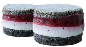 Pekárna Harmonia Makovo - malinový bezlepkový dortík (mražený)