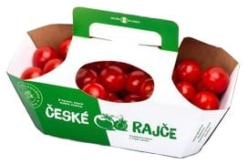 Česká cherry rajčata, košík