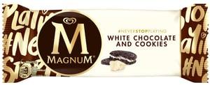 Magnum White Chocolate & Cookies Zmrzlina