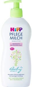HiPP Babysanft Tělové mléko pro suchou pokožku