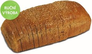 PAC Hořovice Chléb toustový tmavý (Balený)