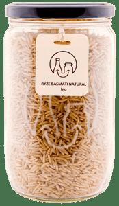 BIO Rýže basmati natural