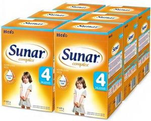 Sunar Complex 4, 6x600g + 2x dárek