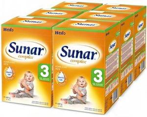Sunar Complex 3, 6x600g + 2x dárek