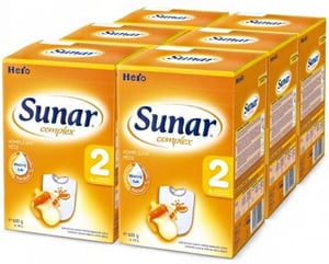 Sunar Complex 2, 6x600g + 2x dárek