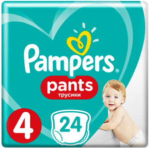 Pampers Pants (velikost 4)