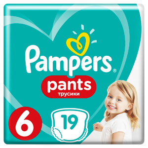 Pampers Pants (velikost 6)
