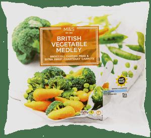 Marks & Spencer Zeleninová směs (3 druhy)