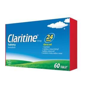 CLARITINE 10MG neobalené tablety 60