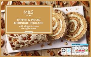 Marks & Spencer Karamelová roláda s pekanovými ořechy