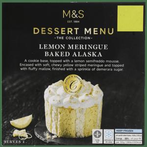 Marks & Spencer Dezert z citrónové pěny