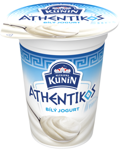 Kunín Athentikos jogurt bílý