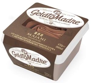GelatoMadre čokoládová zmrzlina majani