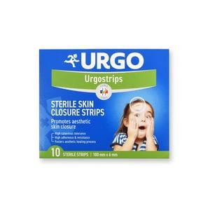 URGO STRIPS Fixační náplasťové stehy 100x6mm 10ks