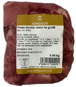 Windsor Prase divoké maso na guláš (mražené)