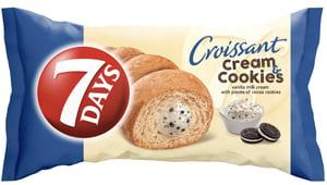 7DAYS Croissant vanilka+cookies