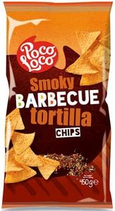 Poco Loco Tortilla chips barbecue
