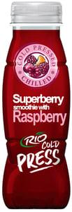 Rio Cold press Superberry Smoothie Malina PET