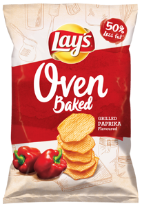 Lay's Chipsy Oven Baked Paprikové