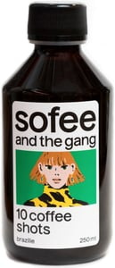 Sofee Brazílie 10 coffee shots