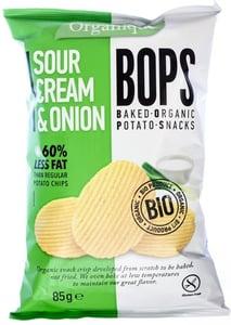 Organique BIO Chips Bops smetana a cibule
