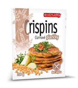 Extrudo Crispins Cizrnové placičky