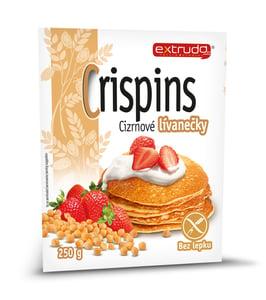 Extrudo Crispins Cizrnové lívanečky