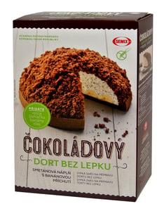 Semix Čokoládový dort s náplní bez lepku