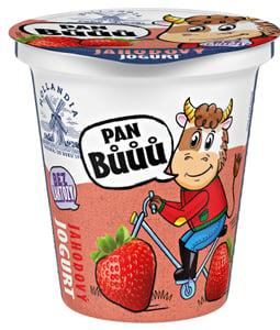 Hollandia Pan Bůůů krémový jogurt jahoda
