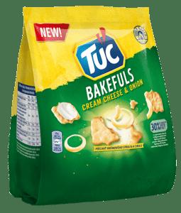 Tuc Bakefuls s krémovým sýrem a cibulí