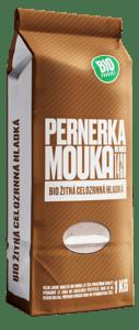 Pernerka BIO Žitná celozrnná hladká mouka