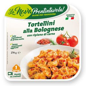 La Nova Prontintavola Tortellini plněné masem s omáčkou bolognese