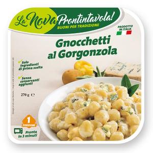 La Nova Prontintavola Gnocchi s gorgonzolou