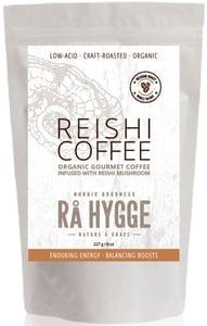Rå Hygge BIO zrnková káva Peru Arabica REISHI