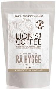 Rå Hygge BIO zrnková káva Honduras Arabica LION'S MANE