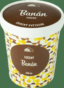 Ovocný Světozor zmrzlina banánová